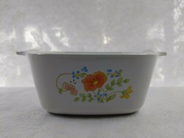 Vintage Corningware In Wildflower 2 3/4 cup P-43-B Mini Casserole Corningware - $23.76