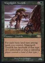 MTG Magnigoth Treefolk (Planeshift) MINT + BONUS! - $1.00