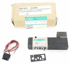 CKD 4KB119-00-C2-DC24V-P7 SOLENOID VALVE 24V, 4KB11900C2DC24VP7 image 1