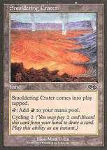 MTG x4 Smoldering Crater (Urza's Saga) MINT + BONUS! - $1.00