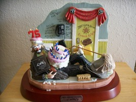 "Emmett Kelly JR. ""Oops! Another Birthday"" Figurine  - $175.00"