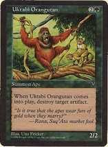 MTG x2 Uktabi Orangutan (Visions) MINT + BONUS! - $1.00
