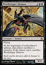 MTG x4 Woebringer Demon (Ravnica) MINT + BONUS! - $2.50