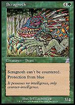 MTG x4 Scragnoth (Time Spiral) MINT + BONUS! - $1.99