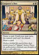 MTG x4 Conjurer's Ban (Guildpact) MINT + BONUS! - $1.50