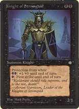 MTG Knight Of Stromgald (Ice Age) MINT + BONUS! - $1.00