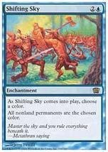 MTG Shifting Sky (8th Edition) MINT + BONUS! - $1.00