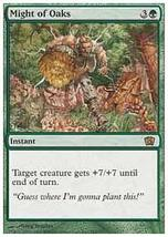 MTG Might of Oaks (8th Edition) MINT + BONUS! - $1.99