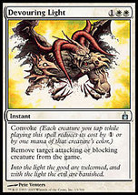 Mtg x2 Devouring Light (Ravnica) Mint + Bonus! - $1.00