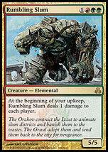 MTG x4 Rumbling Slum (Guildpact) MINT + BONUS! - $5.99