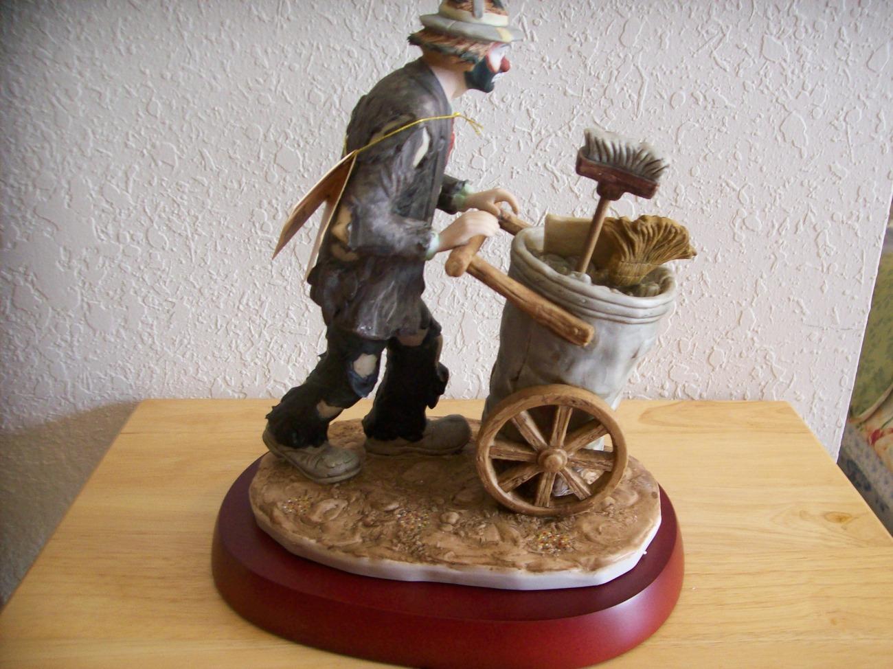 "Emmett Kelly JR. ""After the Parade"" Figurine"