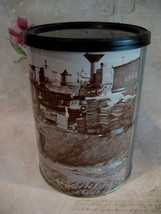 Vintage MJB Coffee Tin Union Pacific Railroad Railway Train Souvenir Can - $19.95