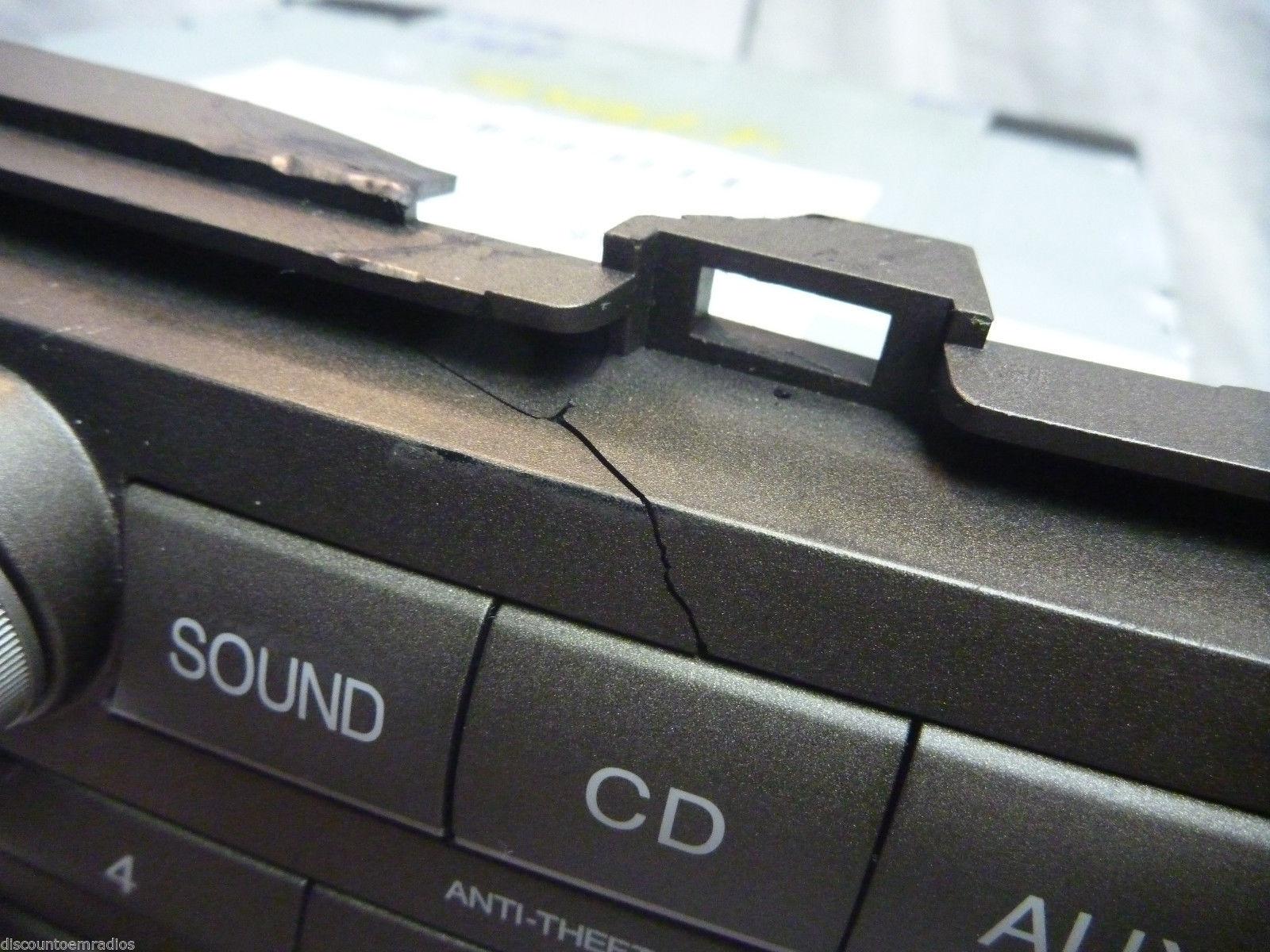 08-12 Honda Accord Gps XM Navigation Radio Control & Code 39101-TA0-A814 3TA0 C4