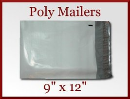 15 Premium White Poly Mailer 9x12 Bags Envelopes 9 x 12 Made in America - $4.75