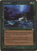 MTG Hurricane (Ice Age) MINT + BONUS! - $1.00