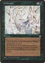 MTG x2 Whiteout (Ice Age) MINT + BONUS! - $1.00