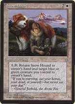 MTG x2 Snow Hound (Ice Age) MINT + BONUS! - $1.00