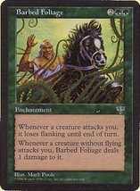 MTG x2 Barbed Foliage (Mirage) MINT + BONUS! - $1.00