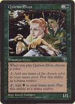 MTG x4 Quirion Elves (Mirage) MINT + BONUS! - $1.50