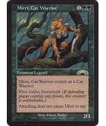 MTG Mirri, Cat Warrior (Exodus) MINT + BONUS! - $3.50