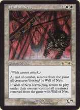 Mtg Wall Of Nets (Exodus) Mint + Bonus! - $1.99