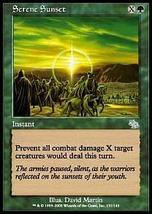 MTG x2 Serene Sunset (Judgment) MINT + BONUS! - $1.00