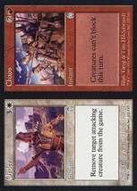 Mtg x2 Order / Chaos (Apocalypse) Mint + Bonus - $1.00