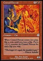MTG x2 Crazed Firecat (Torment) MINT + BONUS! - $1.00