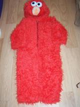 Infant Size 12-18 Months Sesame Street Elmo Plush Halloween Costume EUC - $44.00