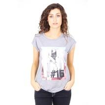 Grey 44 EUR - 8 US Emporio Armani ladies t-shirt short sleeve AGH68 CQ C2 - $92.39