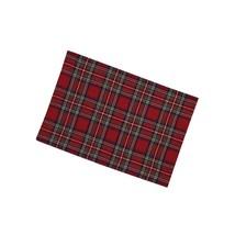 Regal Tartan Placemat Set - Red - $23.99