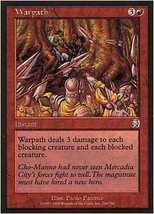MTG x2 Warpath (Mercadian Masques) MINT + BONUS! - $1.00