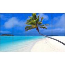 Beach Photo Tile Murals BZ30023. Kitchen Backsplash Bathroom Shower Wall Murals - $150.00+