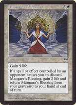 MTG x2 Mangara's Blessing (Mirage) MINT + BONUS! - $1.00