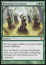MTG Rebuking Ceremony (Darksteel) MINT + BONUS! - $1.00