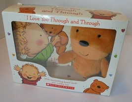 "Scholastic Book & Plush Gift Set ""I Love You Through and Through"" & Tedd... - $9.87"