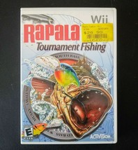 Rapala Tournament Fishing! - Nintendo Wii Game - Complete & Tested - $3.95
