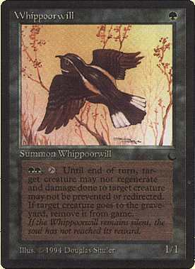 MTG Whippoorwill (The Dark) MINT + BONUS!