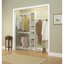 Bedroom Closet Storage Cabinet Rack Clothing Or... - $64.33