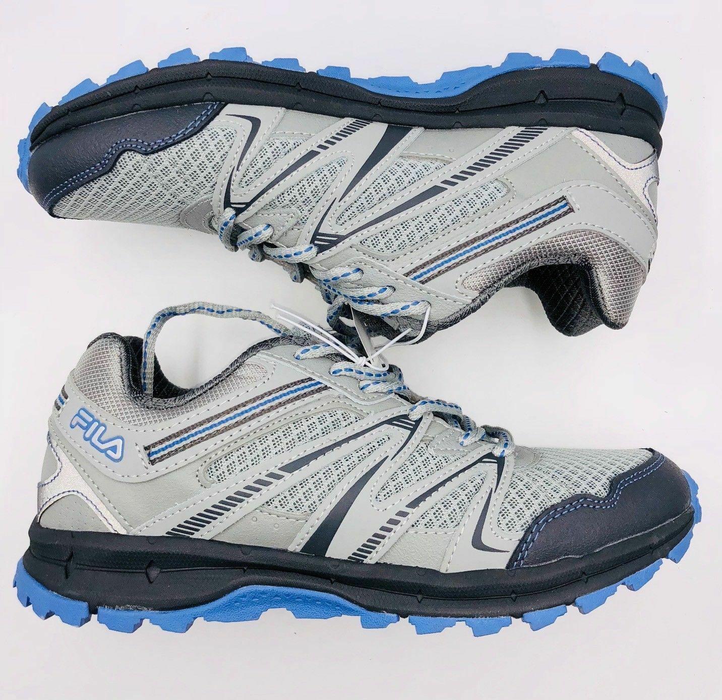 NEW Fila Northampton Women/'s Trail Running Hiking Shoes Gray Blue Choose Size