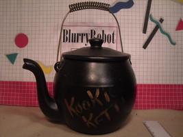Vintage McCoy KOOKIE KETTLE 171 Stoneware Cookie Jar with Lid - $5.00
