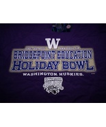 University of Washington Huskies Bridgepoint Education Holiday Bowl T-sh... - $19.99