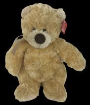 Aurora Puddin Bear Teddy Light Brown Beige Tan Stuffed Plush Animal Ribb... - $39.59