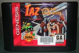 SEGA GENESIS - TAZ In ESCAPE FROM MARS (Game Only) - $10.00