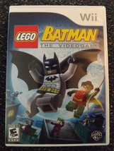 LEGO Batman: The Videogame - Plays On The Wii & Wii U - New - Free Cont ... - $18.00