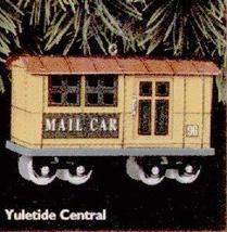 1996 Yuletide Central Mail Car Hallmark Ornament - $4.95