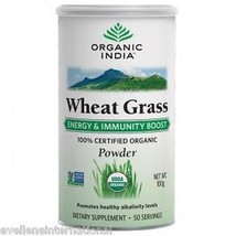 Organic India  Wheat Grass (powder)  100 GM  Dietary Supplement 100% Veg - $16.89