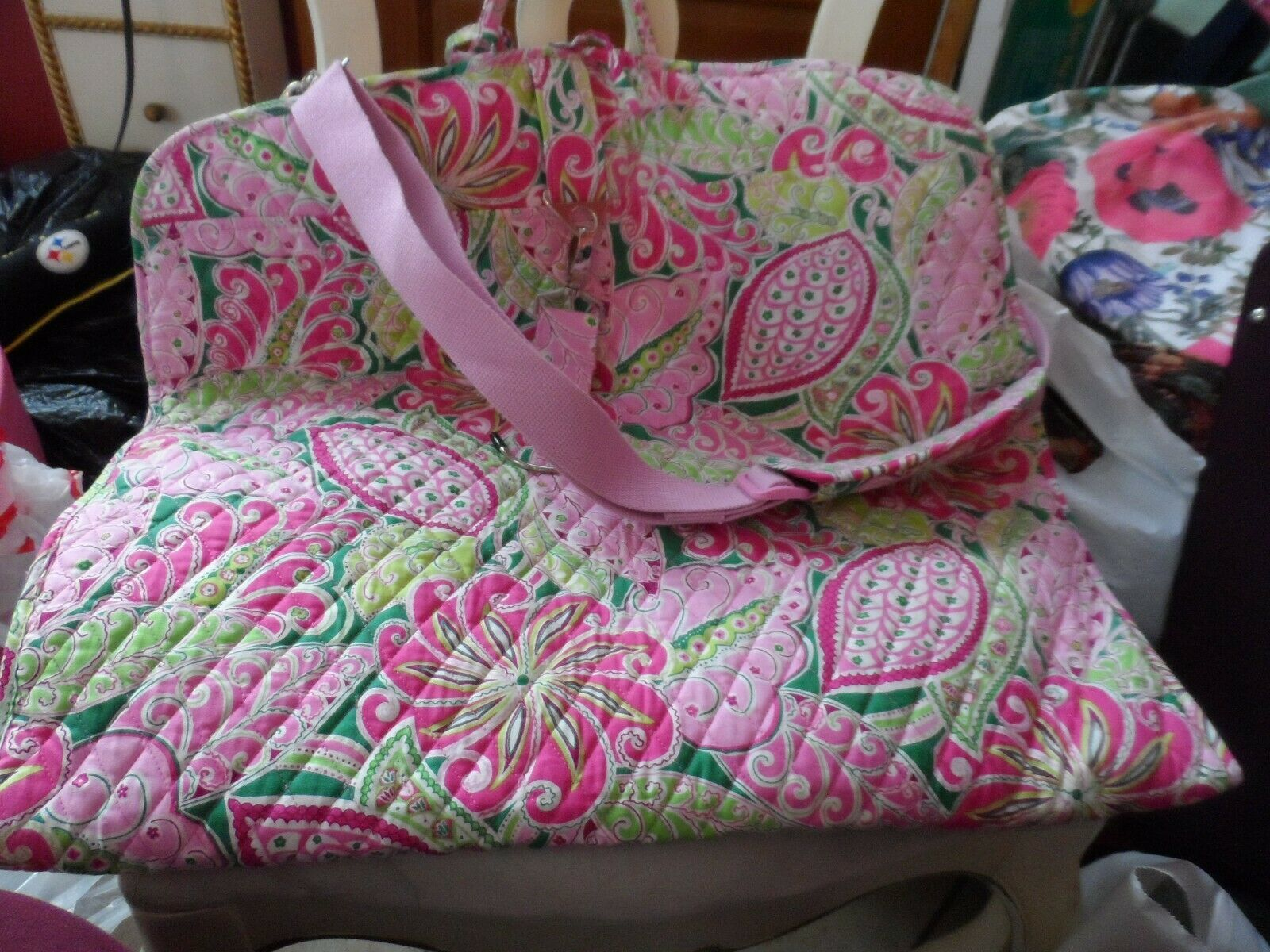 Primary image for Vera Bradley Pinwheel Pink Garment bag