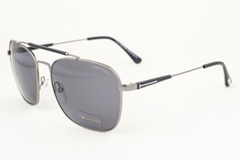 Tom Ford Edward Gunmetal Black / Gray Polarized Sunglasses TF377 09D - $195.02