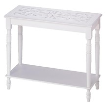 White Wood Console Table - $100.91